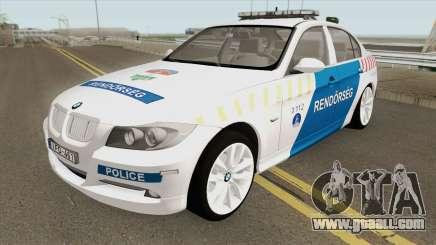 BMW 330i Magyar Rendorseg for GTA San Andreas