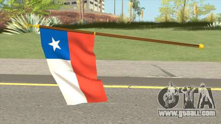 Flag Of Chile for GTA San Andreas