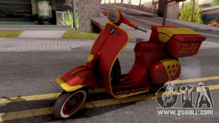 Vespa N 50 for GTA San Andreas