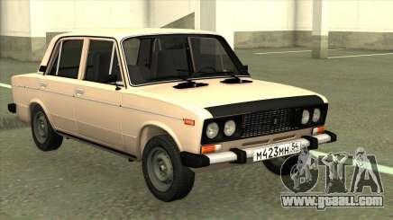 VAZ 2106 stock Original for GTA San Andreas