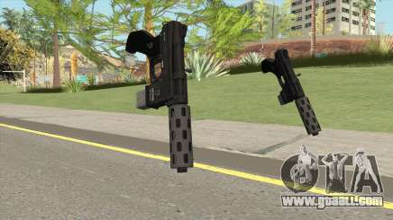 Vom Feuer Machine Pistol GTA V (Short Mag) for GTA San Andreas
