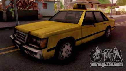 Taxi GTA VC for GTA San Andreas