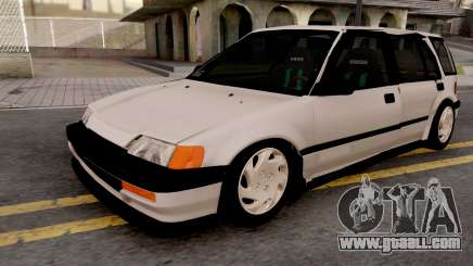 Honda Civic Shuttle 1991 for GTA San Andreas