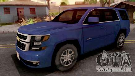 Chevrolet Tahoe 2015 SA Style for GTA San Andreas
