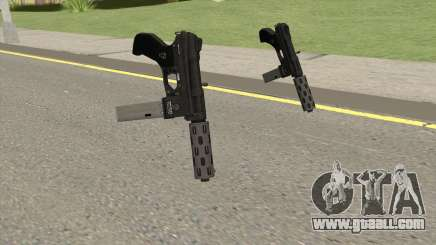 Vom Feuer Machine Pistol GTA V (Long Mag) for GTA San Andreas