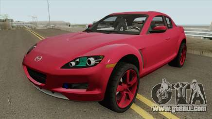Mazda RX8 HQ for GTA San Andreas