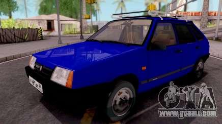 VAZ-21093 Blue for GTA San Andreas