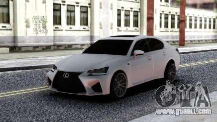 Lexus GS-F for GTA San Andreas