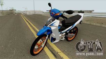 Yamaha 125z Full STD v2 for GTA San Andreas