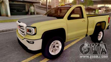 GMC Sierra 2018 for GTA San Andreas