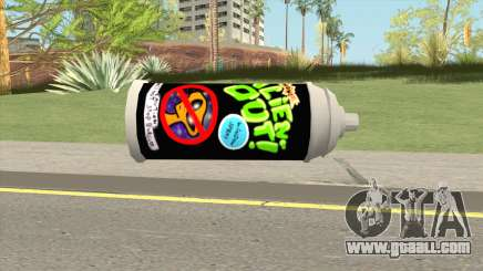 AlienOut Spraycan (From Spongebob) for GTA San Andreas