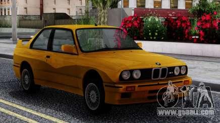 BMW M3 E30 Sport Evolution 1986 for GTA San Andreas