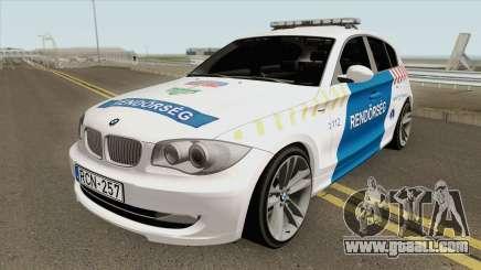 BMW 120i E87 Magyar Rendorseg for GTA San Andreas