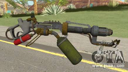 Flame Thrower HQ for GTA San Andreas