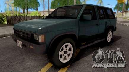 Annis Trailwilder 1992 for GTA San Andreas