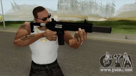 Carbine Rifle GTA V Silenced (Default Clip) for GTA San Andreas