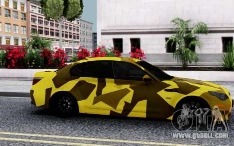 BMW M5 E60 Camo for GTA San Andreas