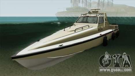 Police Predator GTA V for GTA San Andreas