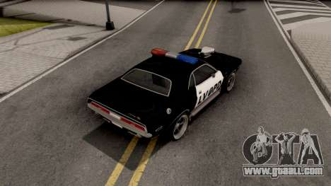 Dodge Challenger 1970 Police LVPD for GTA San Andreas
