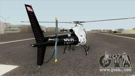 Police Maverick GTA V (SFPD Air Support Unit) for GTA San Andreas