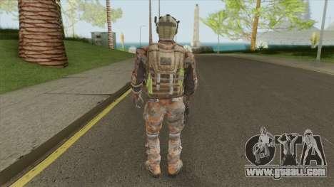 Merc V1 (Call of Duty: Black Ops II) for GTA San Andreas