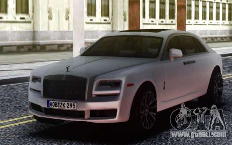 Rolls-Royce Ghost for GTA San Andreas