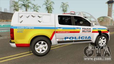 Chevrolet S10 (Policia Militar) 2019 for GTA San Andreas