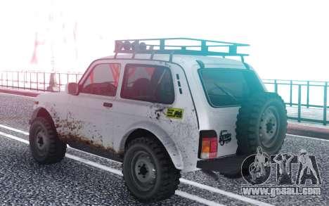 Niva 2121 4x4 for GTA San Andreas