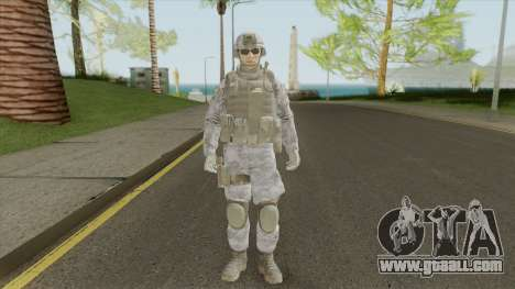 The Damned 33rd Soldier V2 (Spec Ops: The Line) for GTA San Andreas