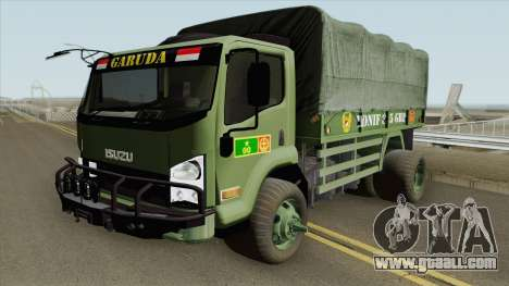 Isuzu Truck (Army) for GTA San Andreas
