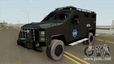 Lenco BearCat (SFPD Tactical Unit) for GTA San Andreas