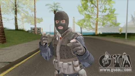 Colussus Militia V1 (Call Of Duty: Black Ops II) for GTA San Andreas