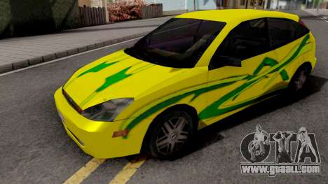 Ford Focus Tuning for GTA San Andreas