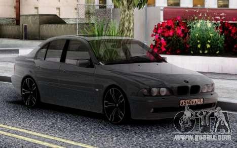 BMW 540i E39 for GTA San Andreas
