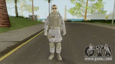 The Damned 33rd Soldier V3 (Spec Ops: The Line) for GTA San Andreas