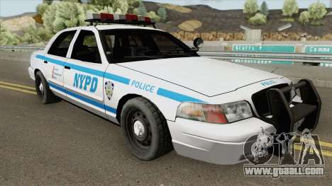 Ford Crown Victoria - Police NYPD v2 for GTA San Andreas