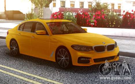 BMW 540i G30 for GTA San Andreas