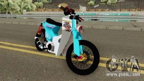 Honda C70 StreetCub for GTA San Andreas