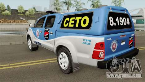 Toyota Hilux 2015 CETO for GTA San Andreas