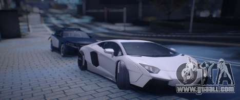Lamborghini Aventador for GTA San Andreas