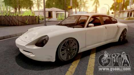GTA IV Pfister Alterego for GTA San Andreas
