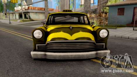 Zebra Cab GTA VC Xbox for GTA San Andreas