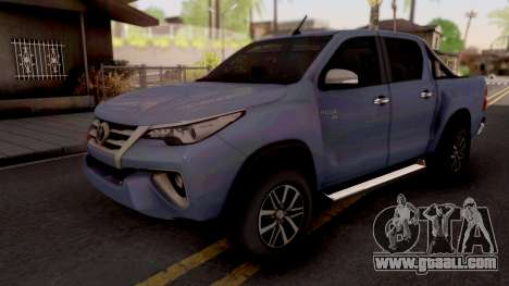Toyota Hilux Front Fortuner 2018 for GTA San Andreas