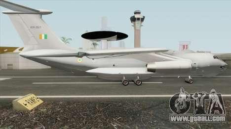 Phalcon AWACS Indian Air Force for GTA San Andreas
