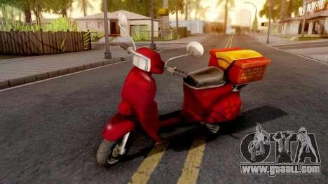 Pizzaboy GTA VC Xbox for GTA San Andreas