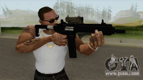 Carbine Rifle GTA V Extended (Grip, Tactical) for GTA San Andreas
