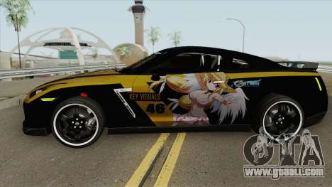 Nissan GT R-35 Astrea Sora No Otoshimono for GTA San Andreas