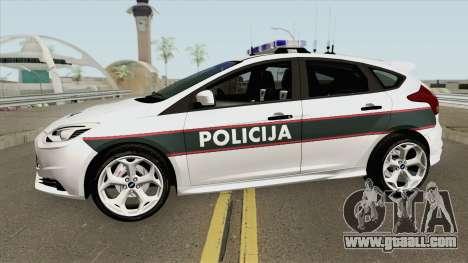 Ford Focus ST 2013 BiH Policija for GTA San Andreas