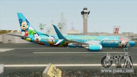 Boeing 737-900 (Disneyland Livery) for GTA San Andreas