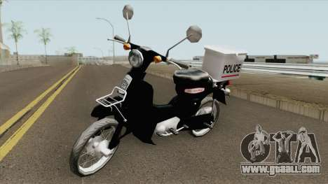 Honda Super Cub Police Version B for GTA San Andreas